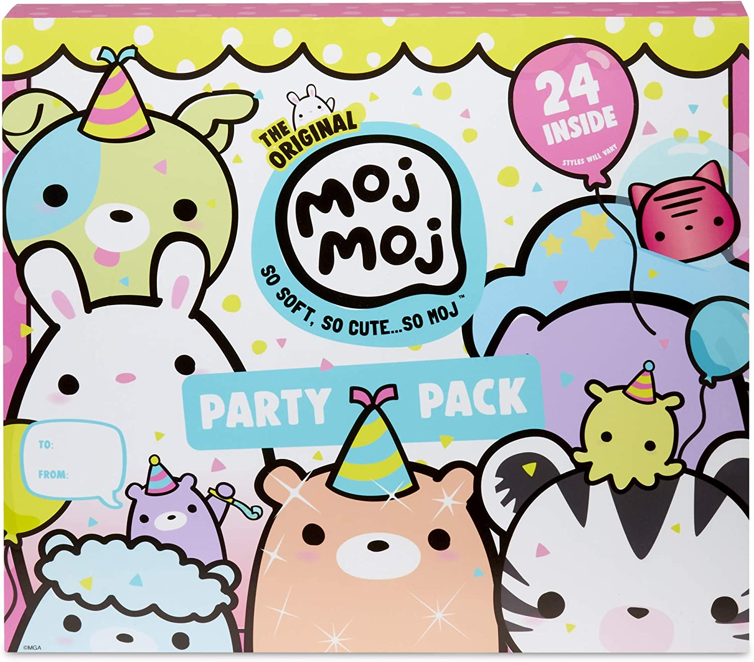 Moj Moj The Original Party Pack with 24 Surprise