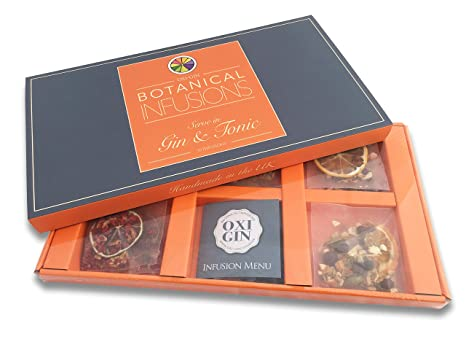 Oxi-Gin Gin & Tonic Infusion Bags Luxury Gift Box