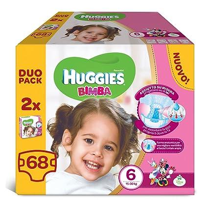 Huggies - Bimba - Pañales - Talla 6 (15-30 kg) - 2