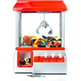 Gadgy GG0094 Candy Grabber with Mute Button | Party Arcade Machine | Traditional Fairground Replica, Multicoloured