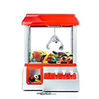Gadgy ® Candy Grabber with mute button | Party Arcade Machine | Traditional Fairground Replica