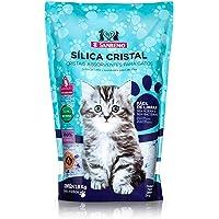 Areia Sanitária Silica 1,8kg Sanremo para Gatos, Colorido