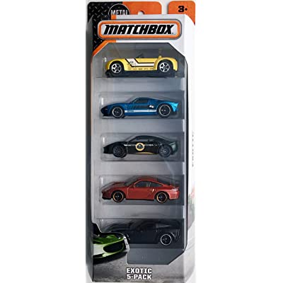Matchbox 2016 Exotic 5-Pack: Toys & Games