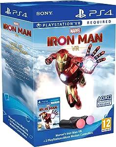 Marvel's Iron Man VR – Conjunto de controle de movimento para PlayStation