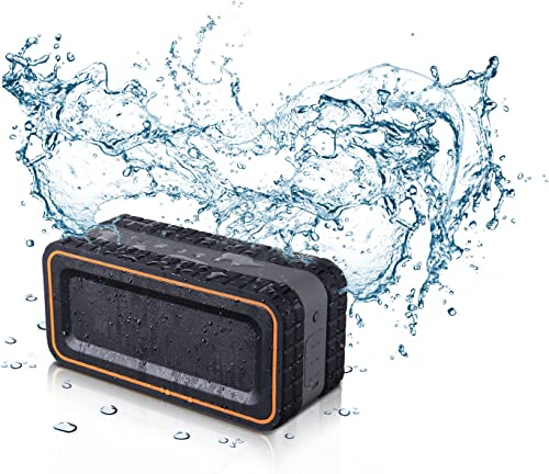 Turcom Acousto Shock 30 Watt Rugged Water Resistant Wireless Bluetooth Speake…