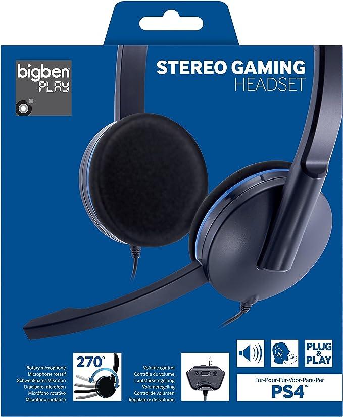 Bigben Interactive - Auricular Plug&Play (Playstation 4): Amazon.es: Videojuegos