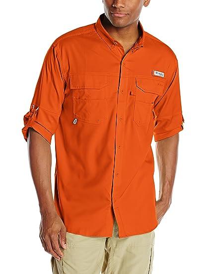 d3c17c5e741 Columbia Men's Blood & Guts iiI Long Sleeve Woven Shirt, Backcountry  Orange, ...