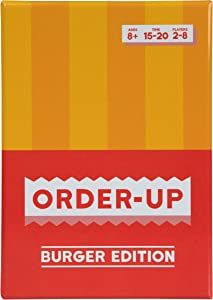 Order-UP - A Fun Family Friendly Card Game | Perfect for Game Night | Card Games for Kids, Teens, & Adults | Players: 2 - 8 | Ages: 8+
