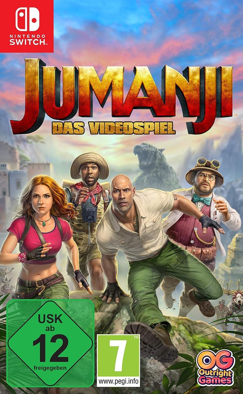 JUMANJI: Das Videospiel - Nintendo Switch [Importación alemana]: Amazon.es: Videojuegos
