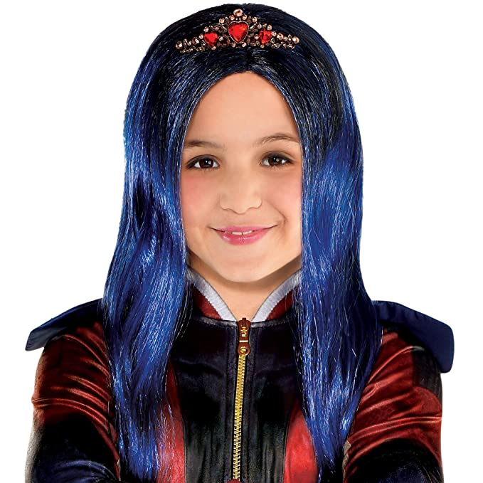 Party City Evie Wig For Girls Descendants 3 Halloween Costume Accessories One Size