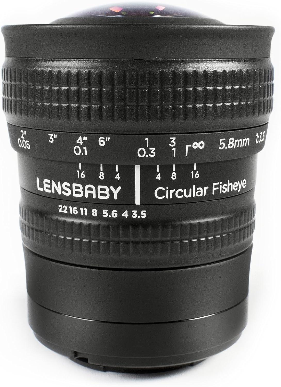Lensbaby Circular Fisheye 5.8mm f/3.5 Lens for Micro 4/3