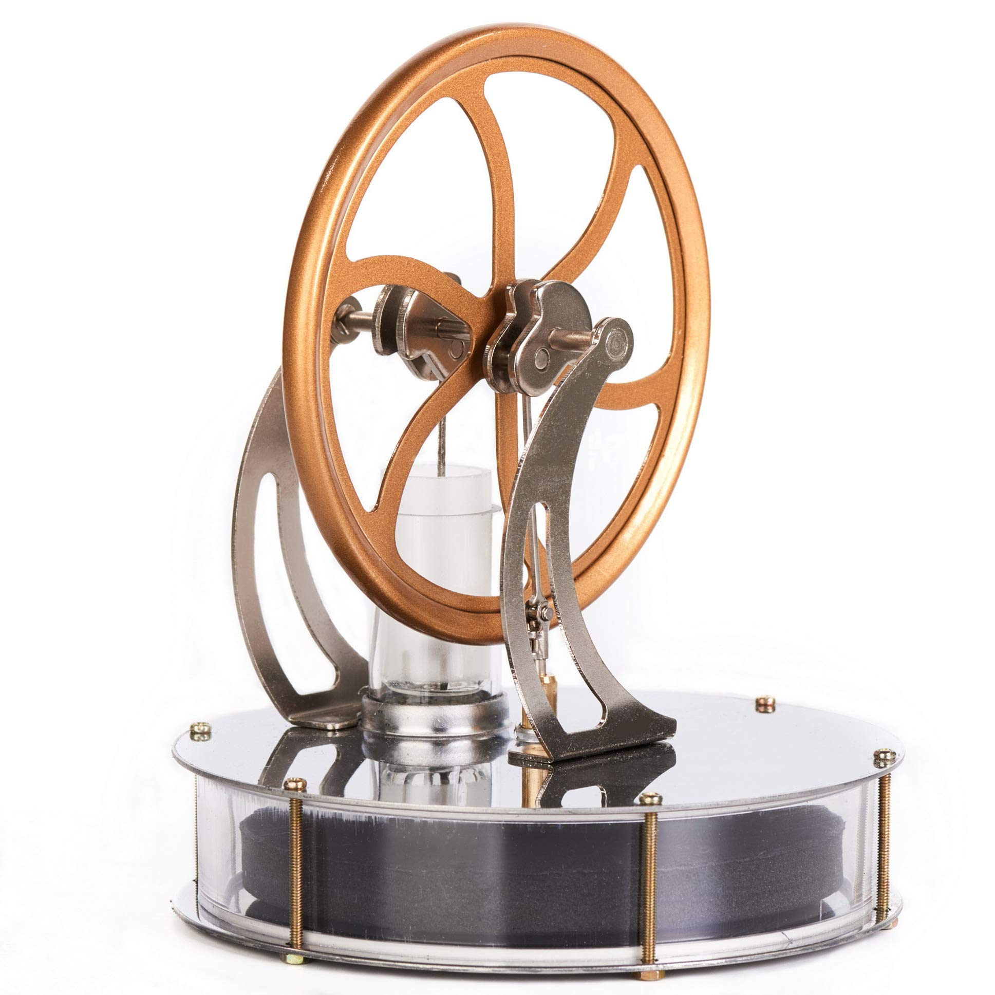 Sunnytech Low Temperature Stirling Engine Motor Steam Heat Education Model Toy Kit (LT001) by Sunnytech (Image #2)