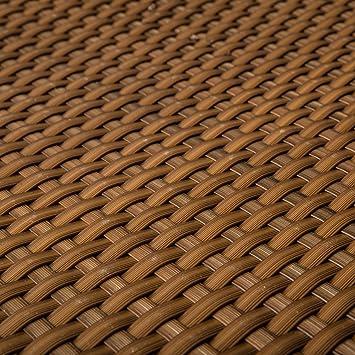 Amazon De Pe Rattan Terrassen Sichtschutz Balkonbespannung Cognac 0