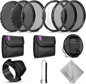 52MM Altura Photo UV CPL ND4 Lens Filters Kit and Altura Photo ND Neutral Density Filter Set. Photography Accessories Bundle for Nikon and Canon Lenses with a 52MM Filter Size