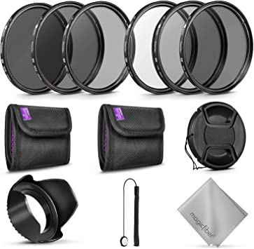 Photography Accessories Bundle for Canon and Nikon Lenses with a 67MM Filter Size 67MM Altura Photo UV CPL ND4 Lens Filters Kit and Altura Photo ND Neutral Density Filter Set