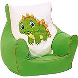"knorr-baby 450303 Kinder Sitzsack ""Drache"", grün"