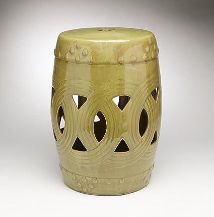 Merveilleux Ceramic Garden Stools Aa Importing 59919 Gn Antique Finish Green Ceramic  Garden Stool 11.5 X