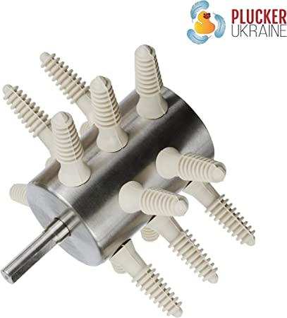 Poultry plucker! Chicken plucker 24 fingers life-time guarantee Make it easy