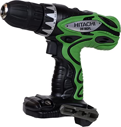 Hitachi DS18DFL 18V 1 2 Cordless Drill Driver Bare Tool – Battery, Charger or Case Not Included