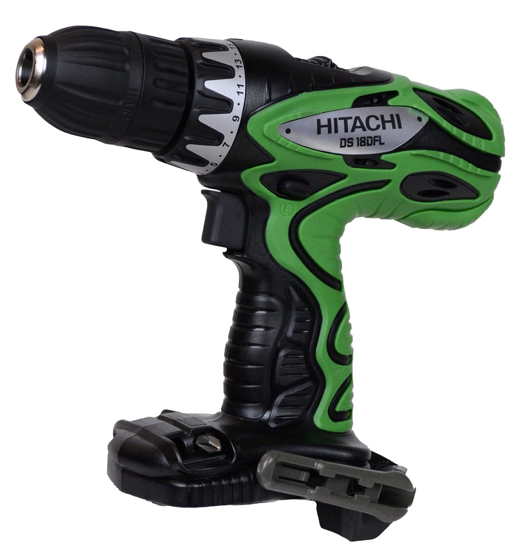 hitachi battery drill. amazon.com: hitachi ds18dfl 18v 1/2\ battery drill s