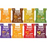 IWON Organics, Variety Pack of 8 Tasty Snacks, Protein Puffs and Snack Stix, High Protein and Organic Healthy Snacks, 8 Flavo