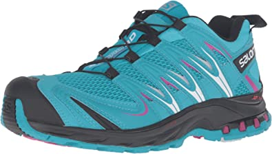 Salomon L39071800, Zapatillas de Trail Running para Mujer, Azul (Blue Jay / Black / Deep Dalhia), 37 1/3 EU: Amazon.es: Zapatos y complementos
