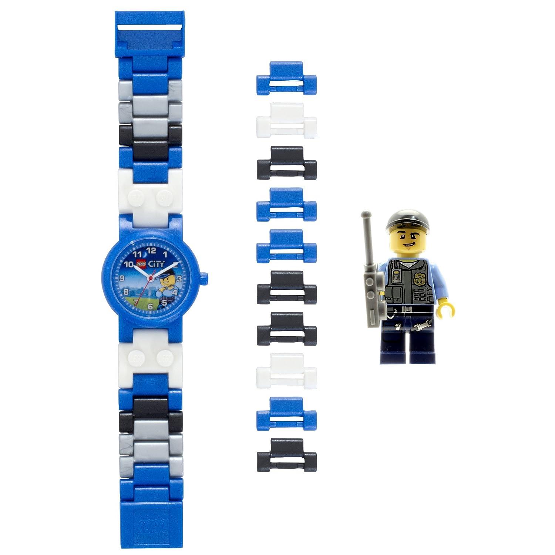 LEGO City 8020028 Spezialeinheits-Polizist Kinder-Armbanduhr mit ...