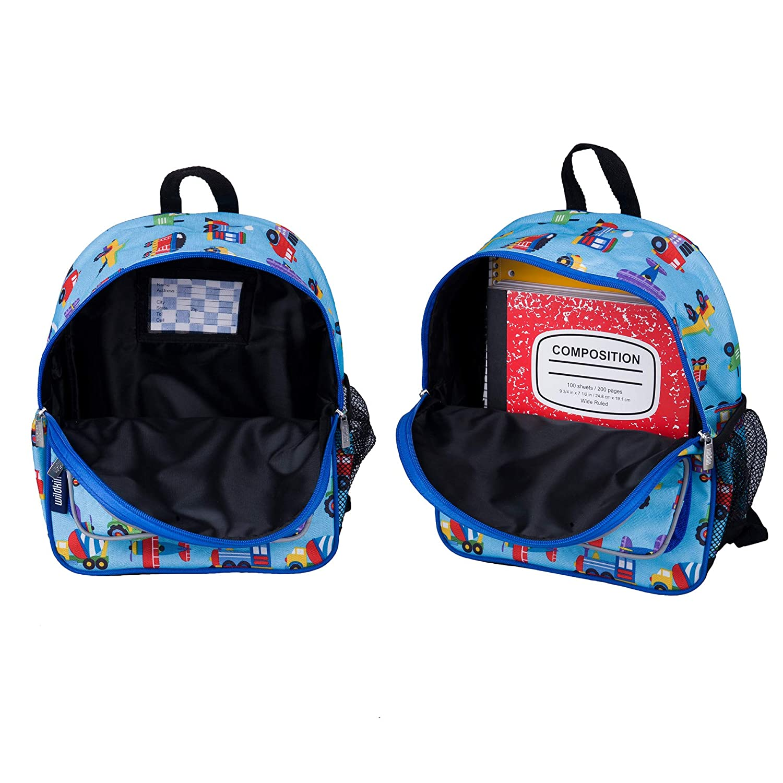 Wildkin-Trains-Planes-amp-Trucks-Pack-039-n-Snack-Backpack miniatura 4