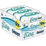Dodot Aqua Pure Toallitas para bebé, 9 paquetes, 432 Toallitas