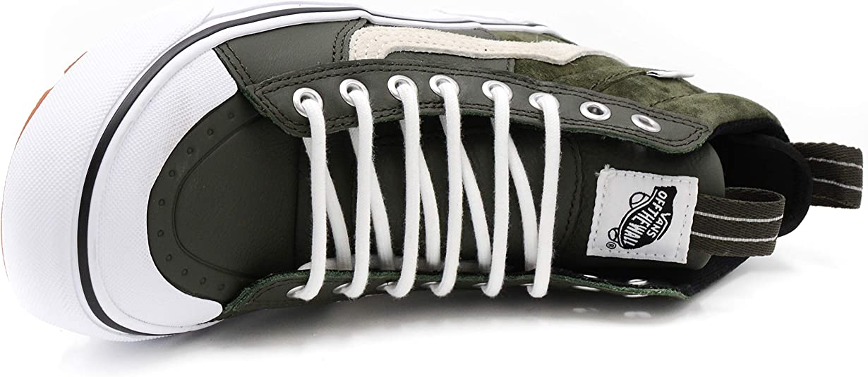 Vans Sk8 Hi MTE 2.0 DX Sneaker Senior, Verde Scuro e Bianco