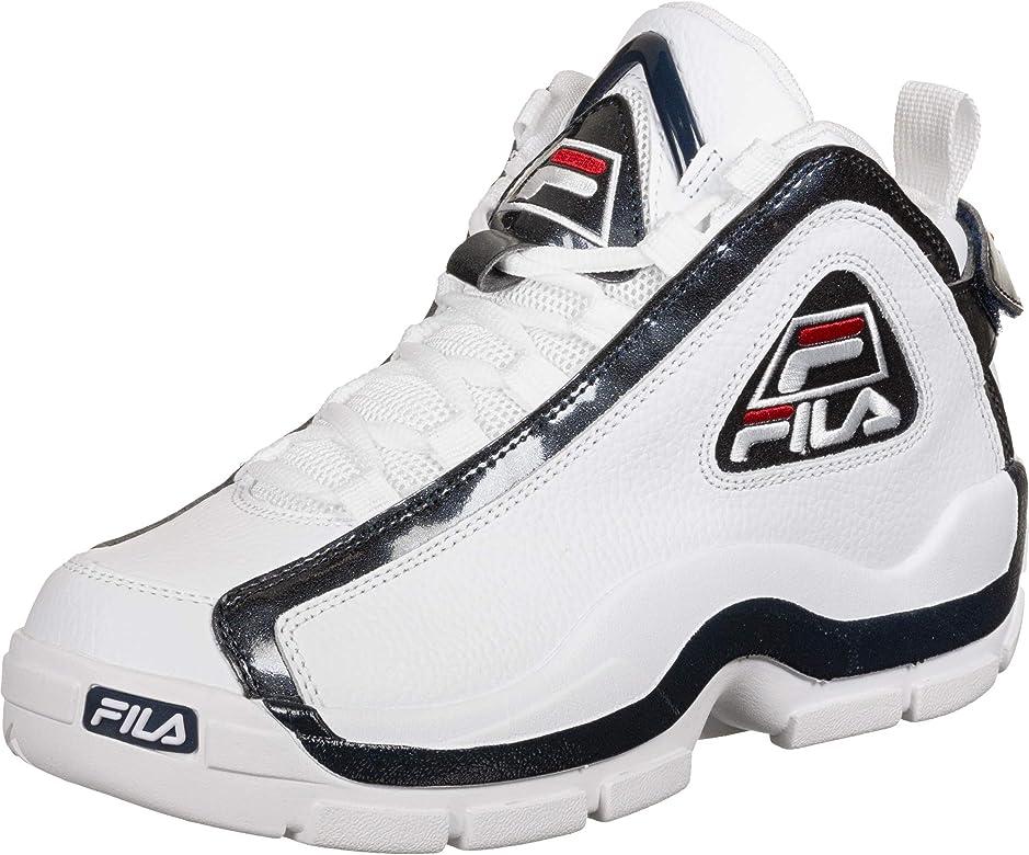 Zapatillas Deportivas de Hombre FILA Grant Hill 2 en Cuero Blanco  1010788-01M