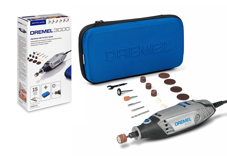 130 W Dremel 3000-15 Multitool 15 Accessories