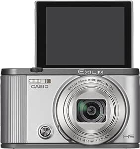 CASIO digital camera EXILIM EX-ZR1700SR (self-portrait tilt LCD auto transfer function Wi-Fi / Bluetooth installed) (Silver)