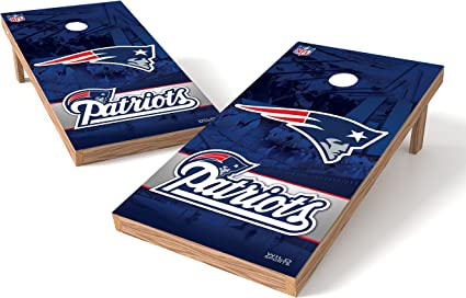 Seatle Seahawks Logo Authentic Cornhole Game Set Family Game Play at a Tailgate