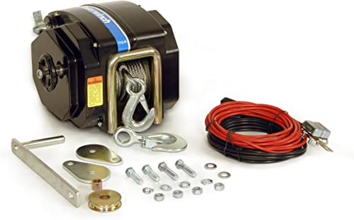 Marine Electric Boat Trailer Winch [Powerwinch] detail review