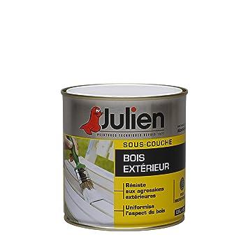 Sous-Couche Julien Pour Bois Extérieur - Blanc Mat 0,5L: Amazon.Fr