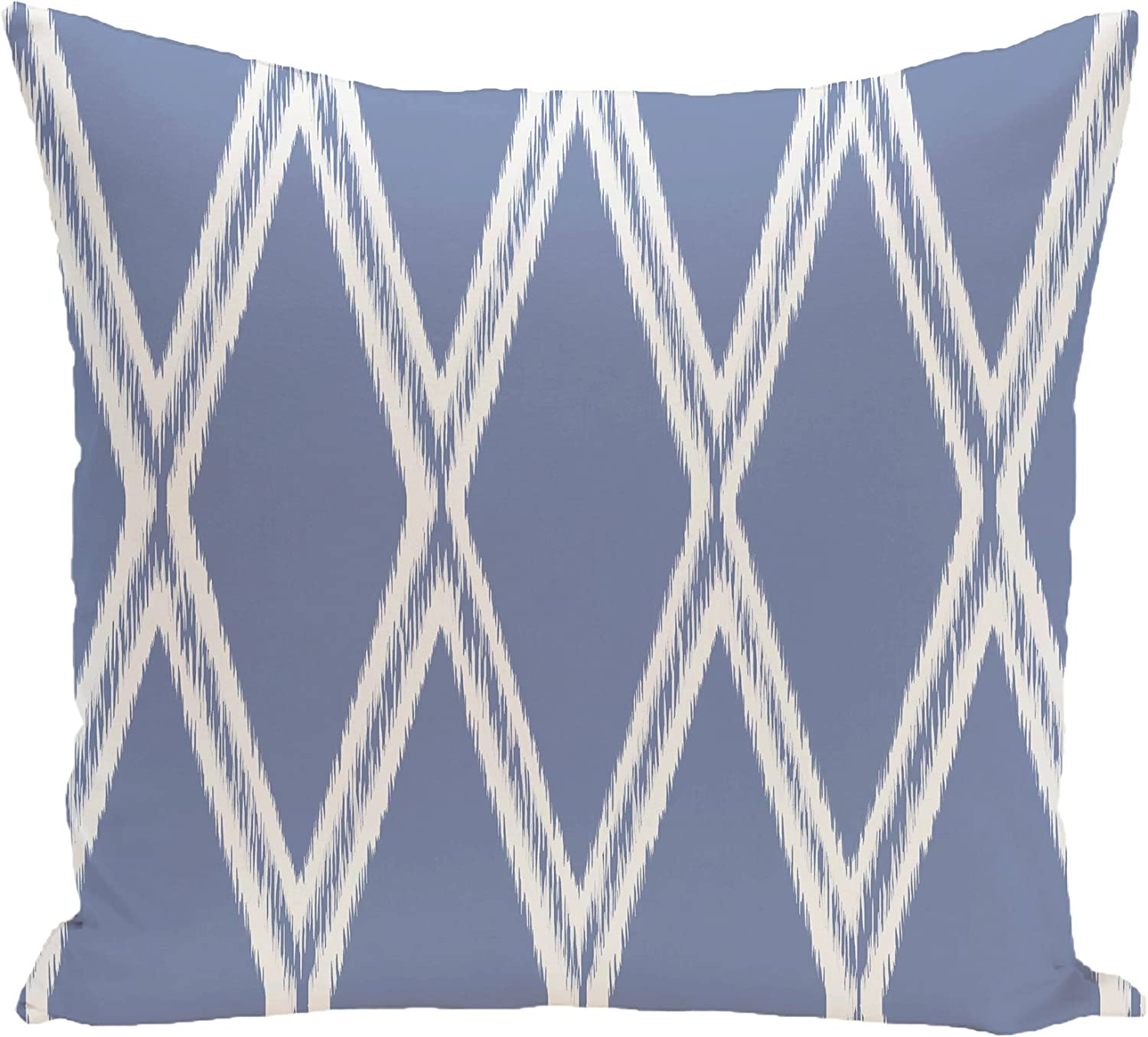 Bewitching E by design Gate Keeper Geometric Print Pillow 16-Inch Length