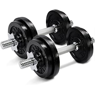 cheap Yes4All Adjustable Dumbbells 2020