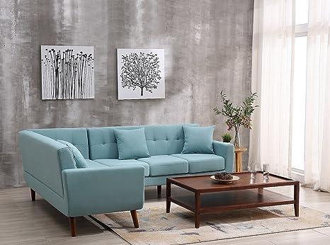 Amazon.com: US Pride Furniture S00127L Left-Facing Sofa ...
