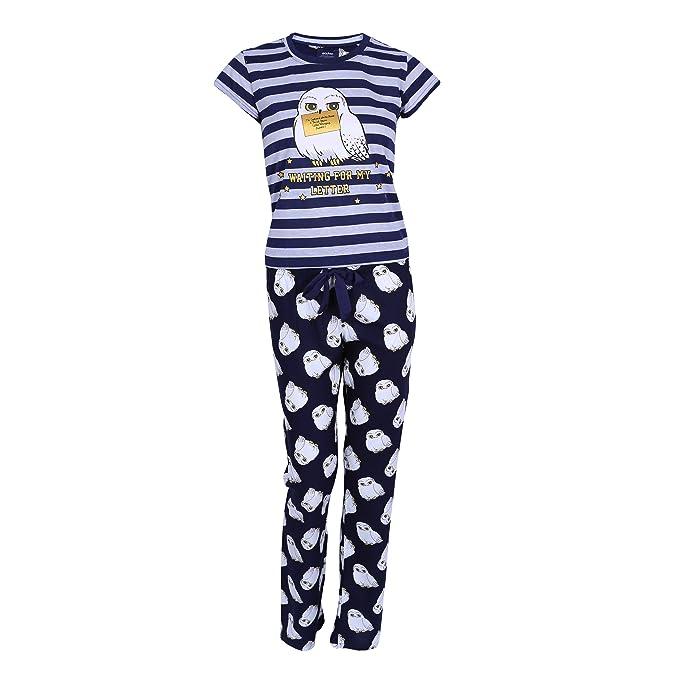 Harry Potter Pijama Azul Marino Búho Nocturno Small