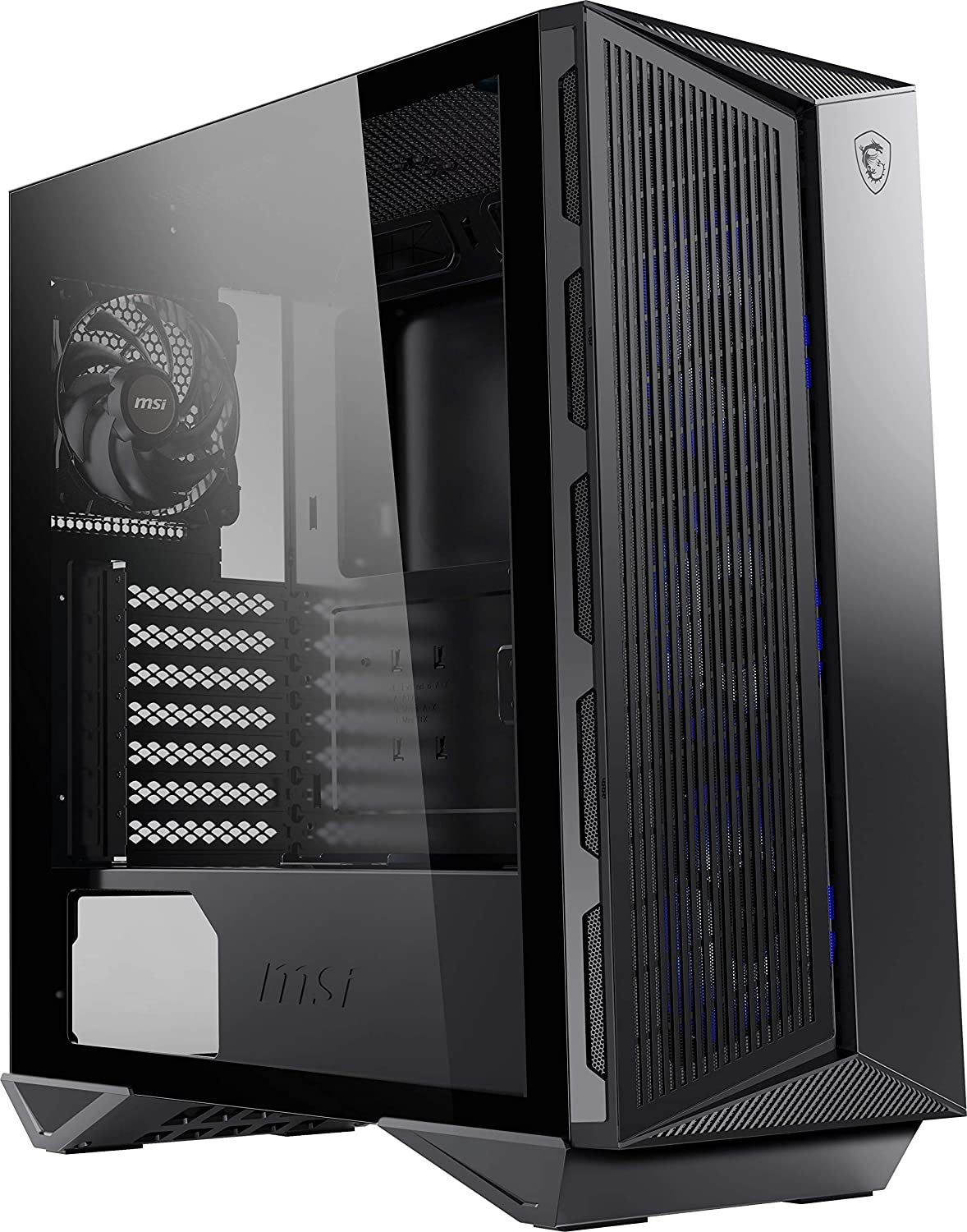 gabinete mid tower MSI MPG GUNGNIR 111M 120mm Fan