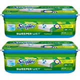 Amazon Price History for:Swiffer Sweeper Wet Mopping Cloth Refill - Open Window Fresh - 24 ct - 2 pk