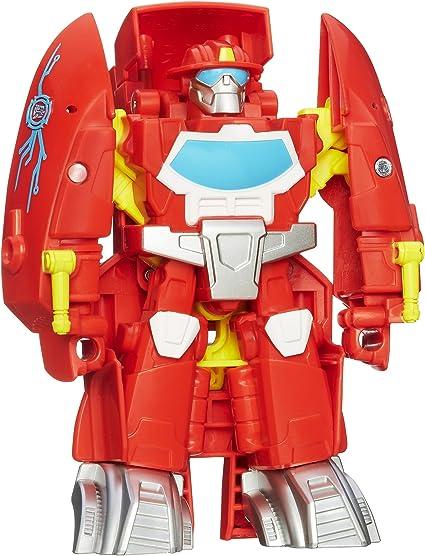 NEW Playskool Heroes Transformers Rescue Bots Heatwave the Fire Bot Figure