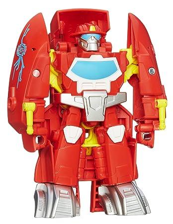 Transformers Playskool Heroes Rescue Bots Heatwave Die Fire Bot Figur