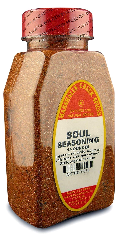 Marshall's Creek Spices Seasoning, Soul, 15 Ounce
