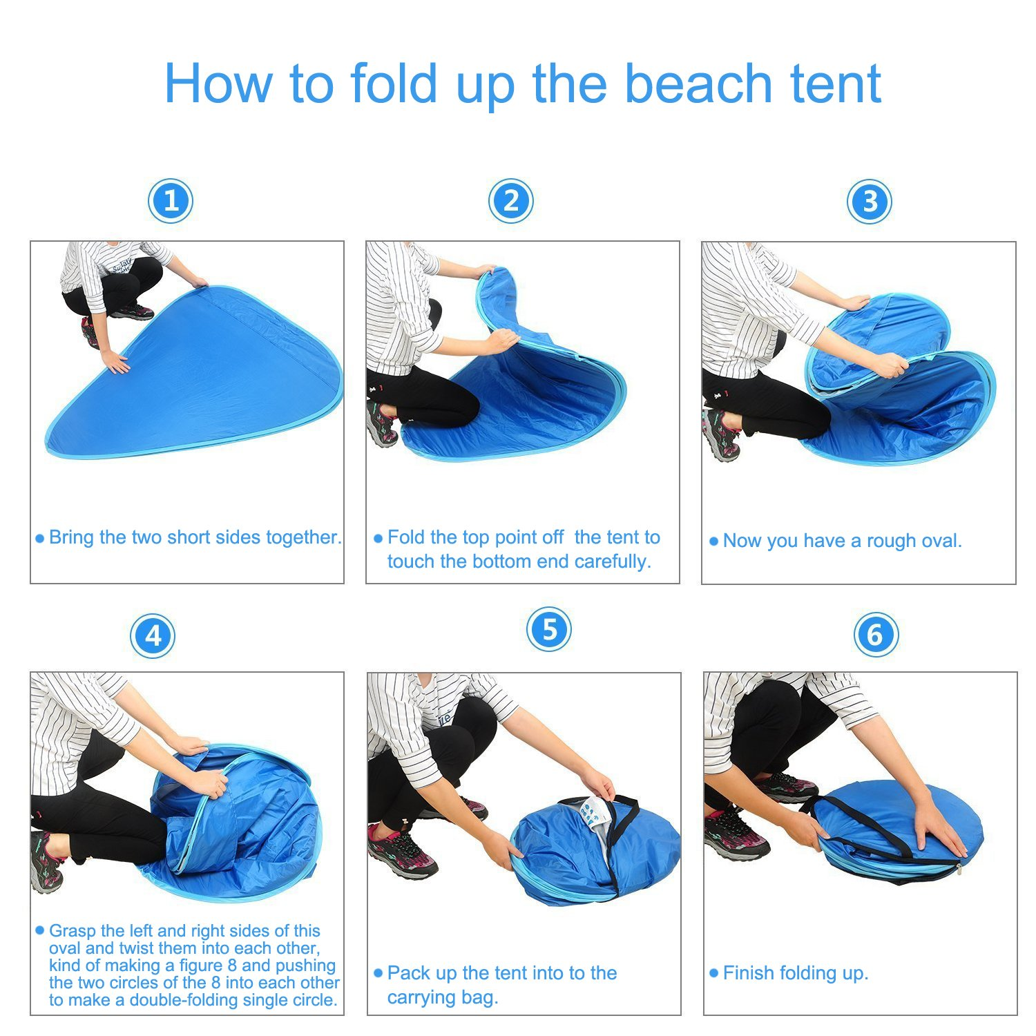 Oversized Pop UP Beach Tent Sun SheltersAutomatic XXL Lightweight Portable Family Anti UV Cabana(2-3 person)Set Up and Fold Up in Seconds Amazon.co.uk ...  sc 1 st  Amazon UK & Oversized Pop UP Beach Tent Sun SheltersAutomatic XXL Lightweight ...