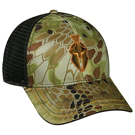 848eefaff30 Amazon.com   Kryptek Adjustable Closure Logo Mesh Back Cap