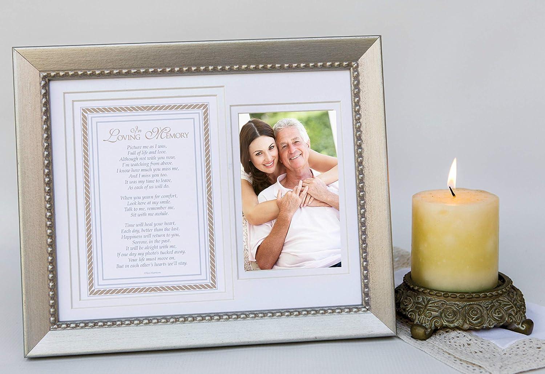 Amazoncom In Loving Memory Sentiment Memorial Picture Frame