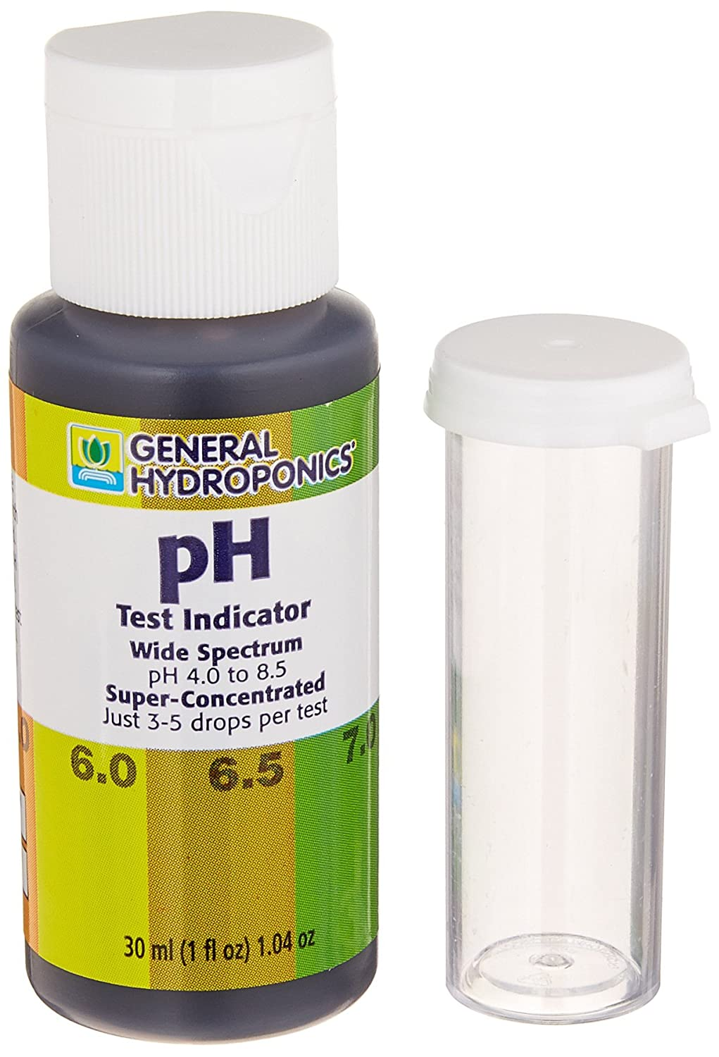 Garden home kit ph tester - Amazon Com General Hydroponics Ph Test Kit 1 Ounce Ph Test Strips Garden Outdoor