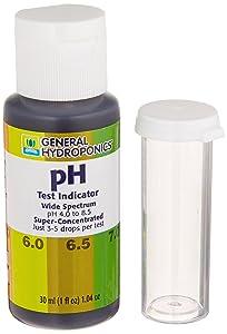 General Hydroponics HGC722145 pH Test Indicator, 1-Ounce